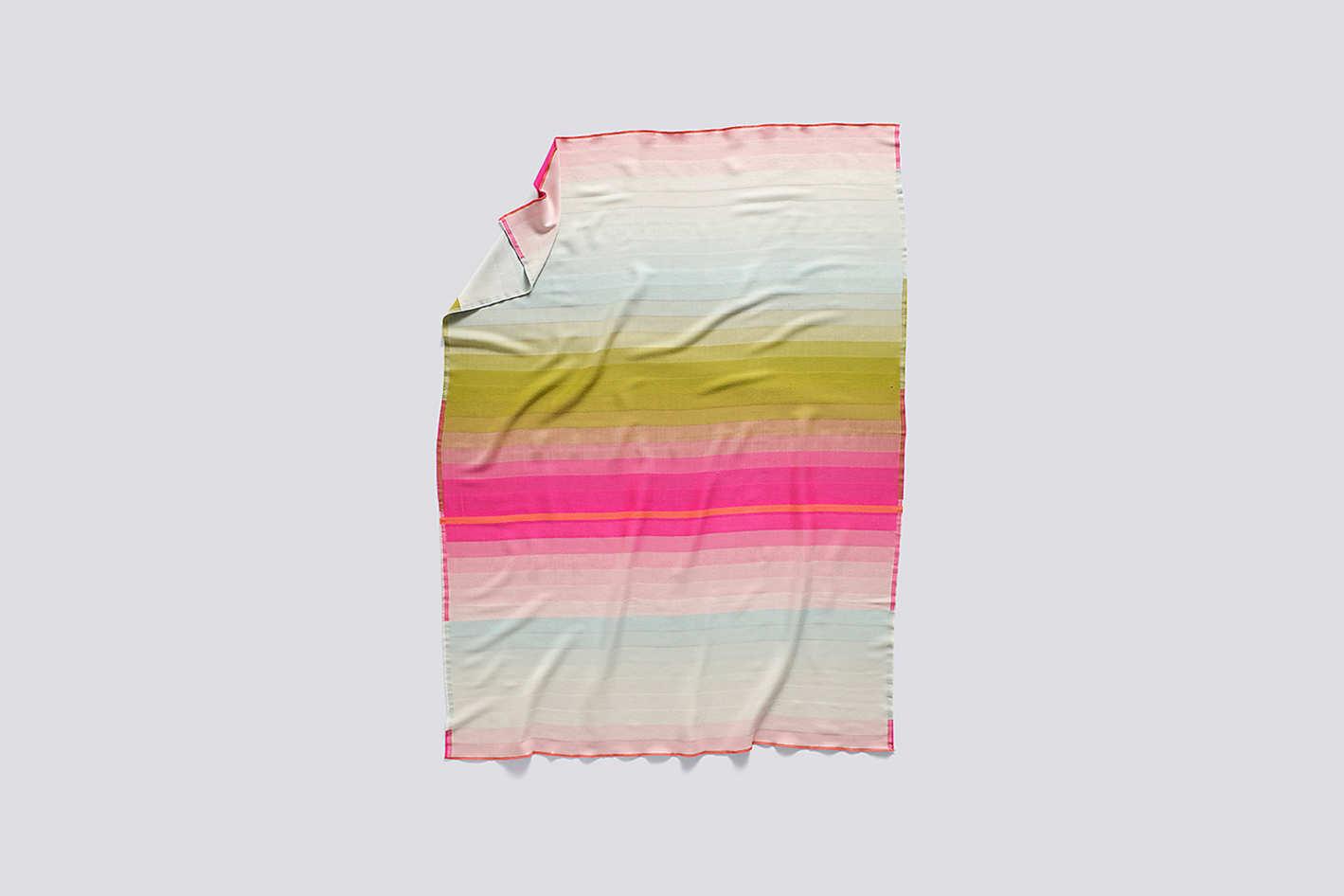 Colour Plaid Throw