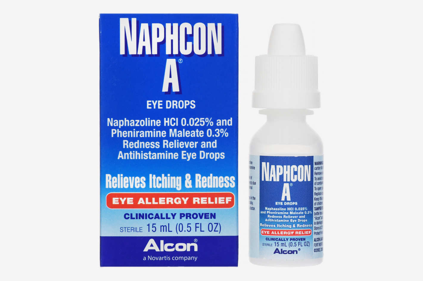 Naphcon A Antihistamine Eye Drops for Eye Allergy Relief, 15 mL