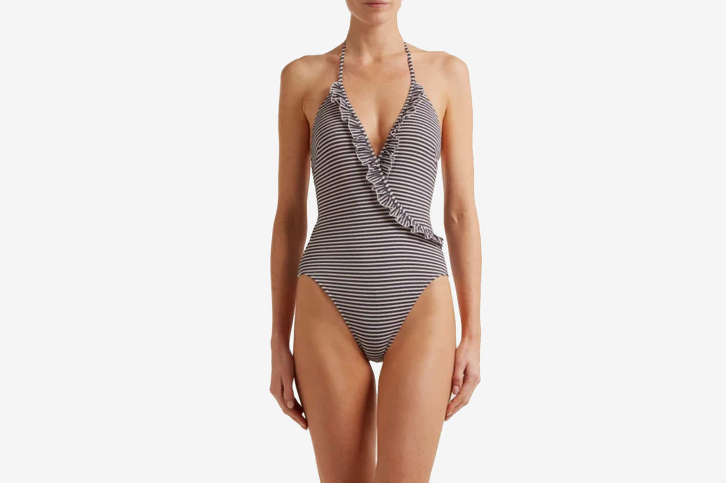 Solid & Striped The Nadine Striped Swimsuit