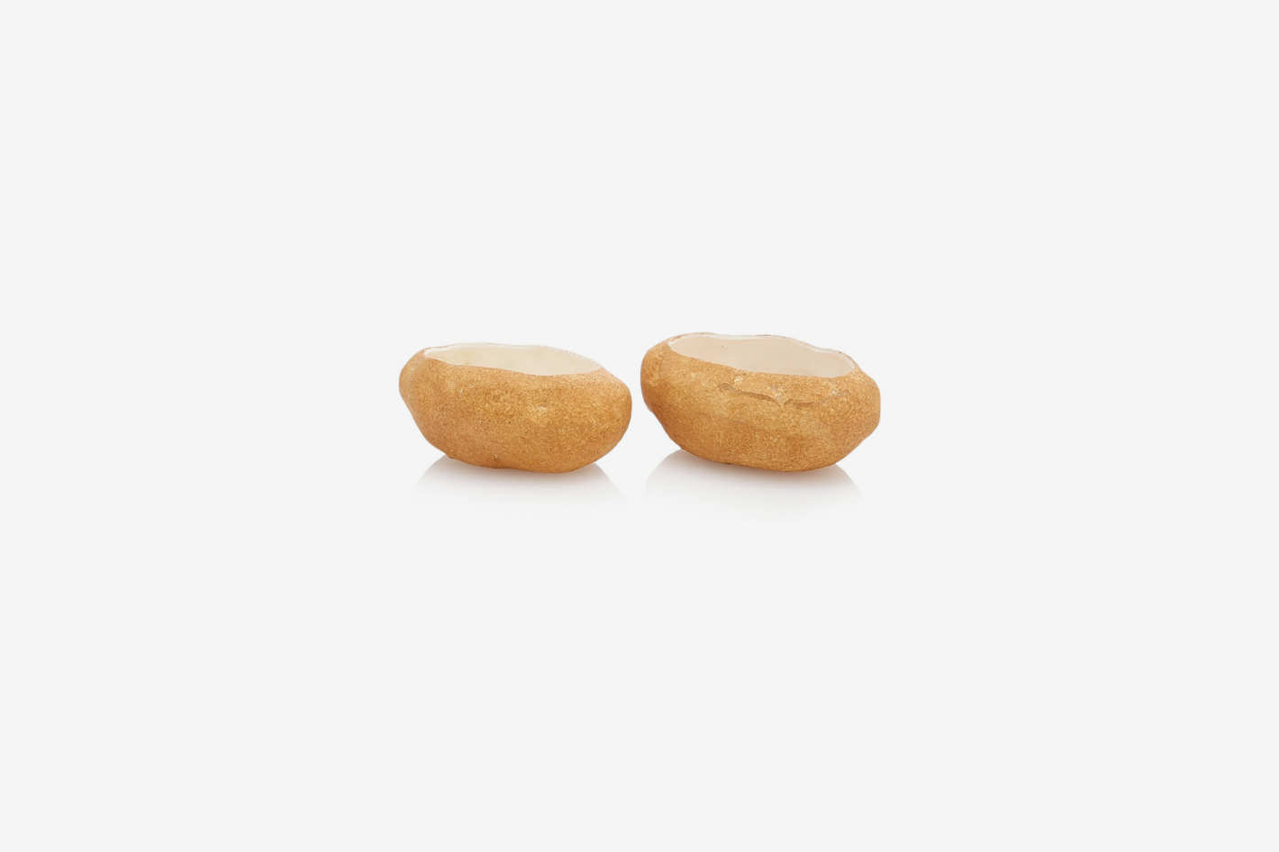 Moda Domus Set-Of-Two Ceramic Potato Bowls