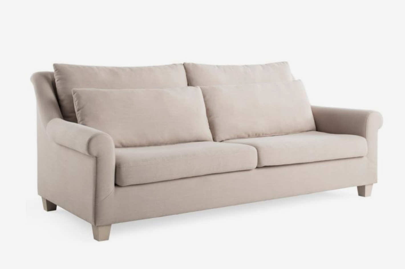A Couch Bed Bee u0026 Willow Home Roll Arm Sofa at Bed Bath u0026 Beyond