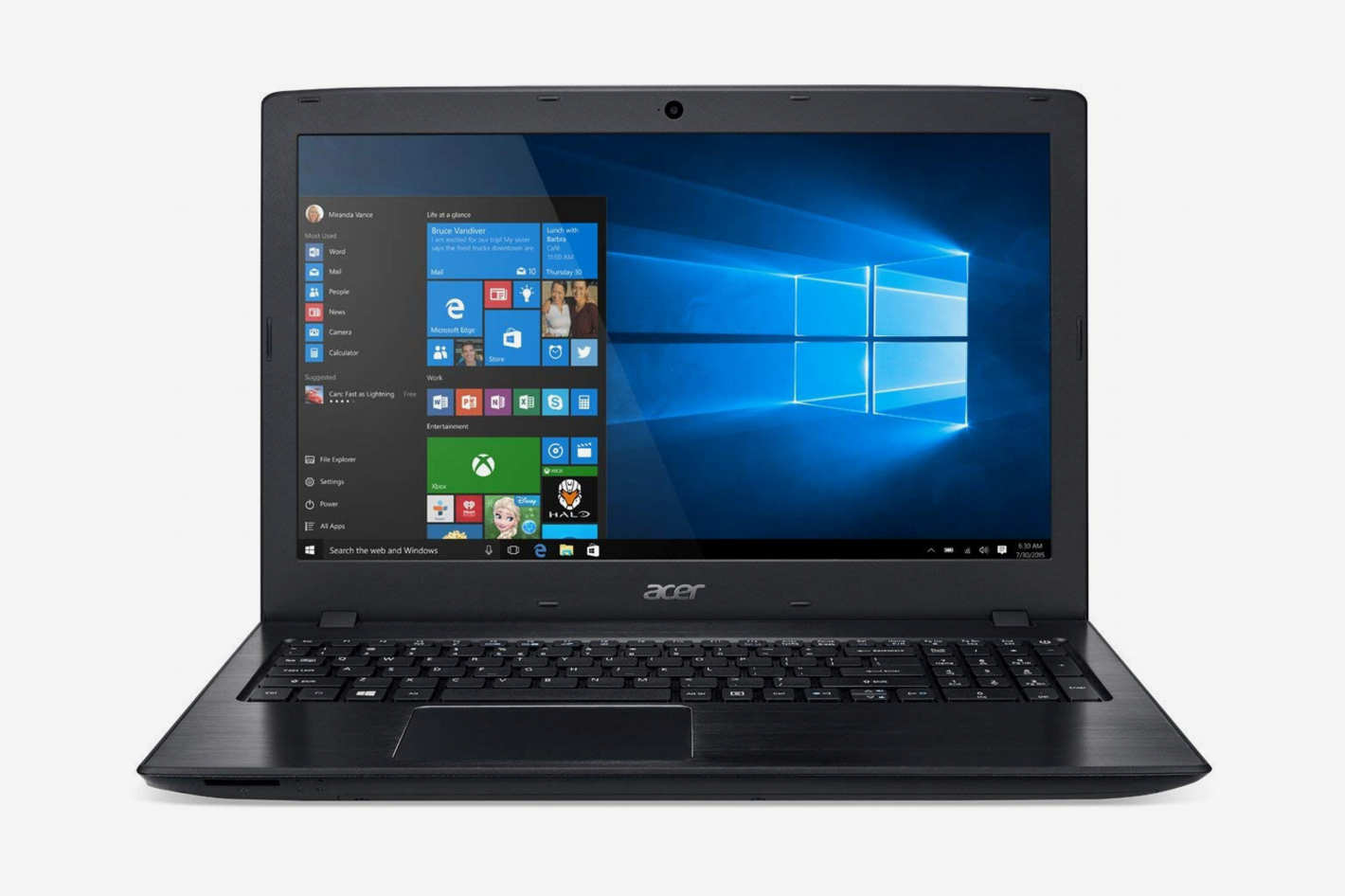 "Acer Aspire E 15 15.6"" Full HD Core i7-8550U"