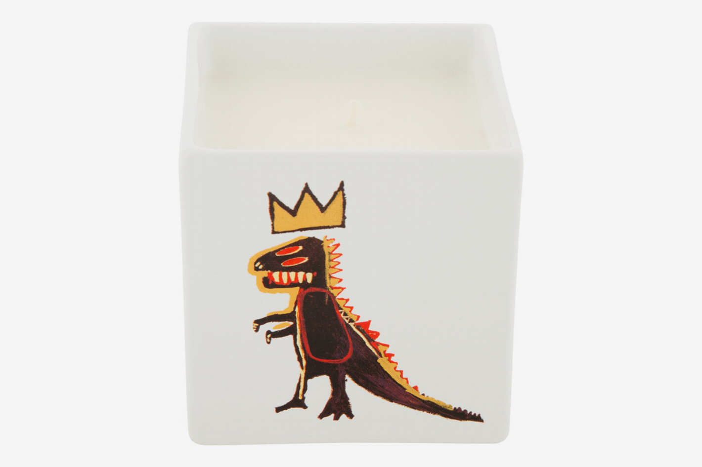 Jean-Michel Basquiat Square Scented Candle
