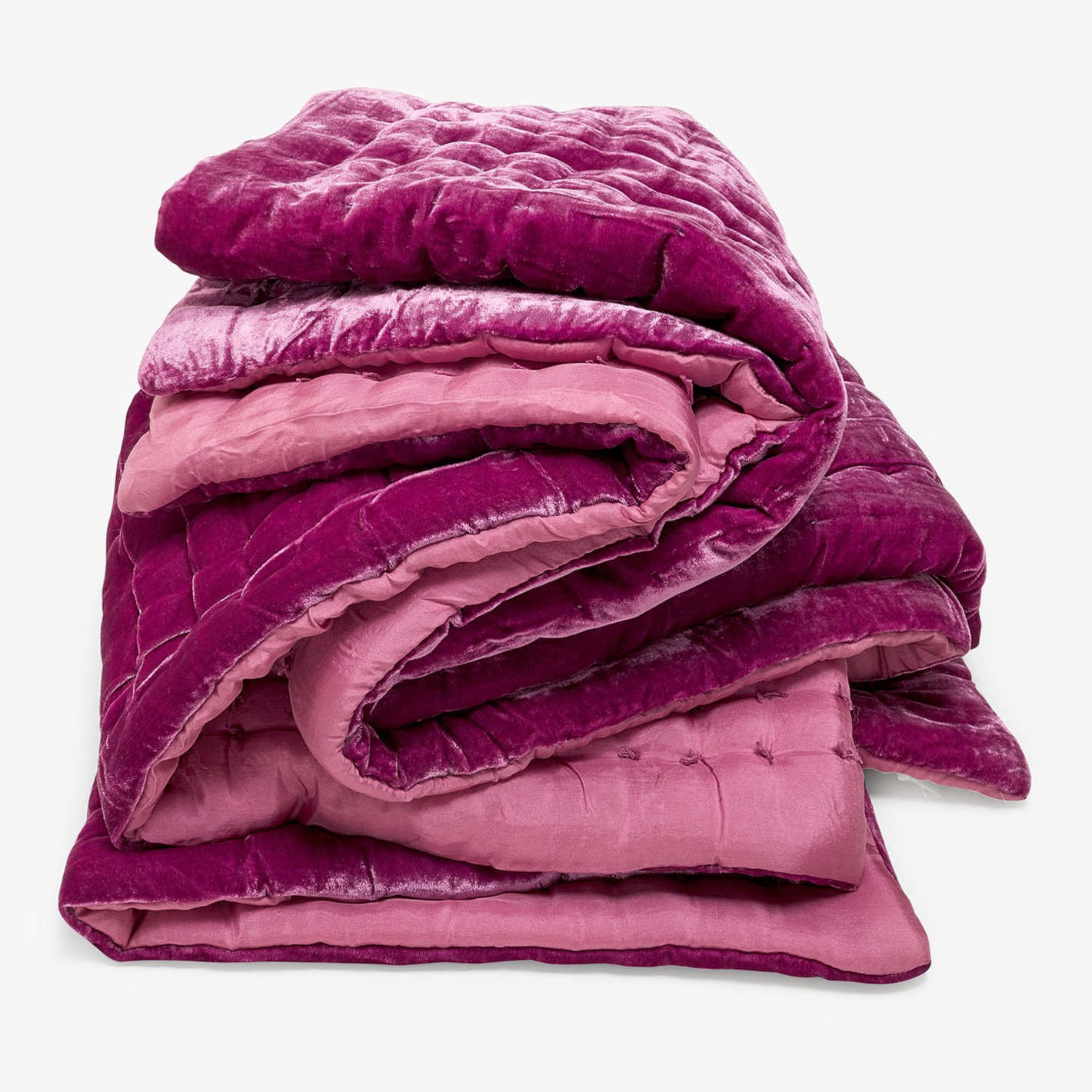 abcDNA Luminous Velvet Throw Plum