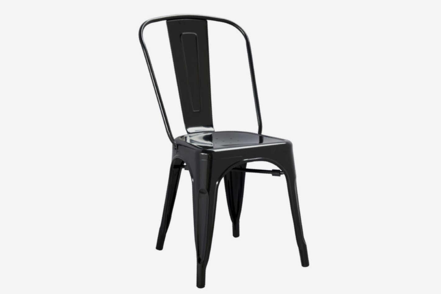 Aron Living Modern Black Tolix Side Chair