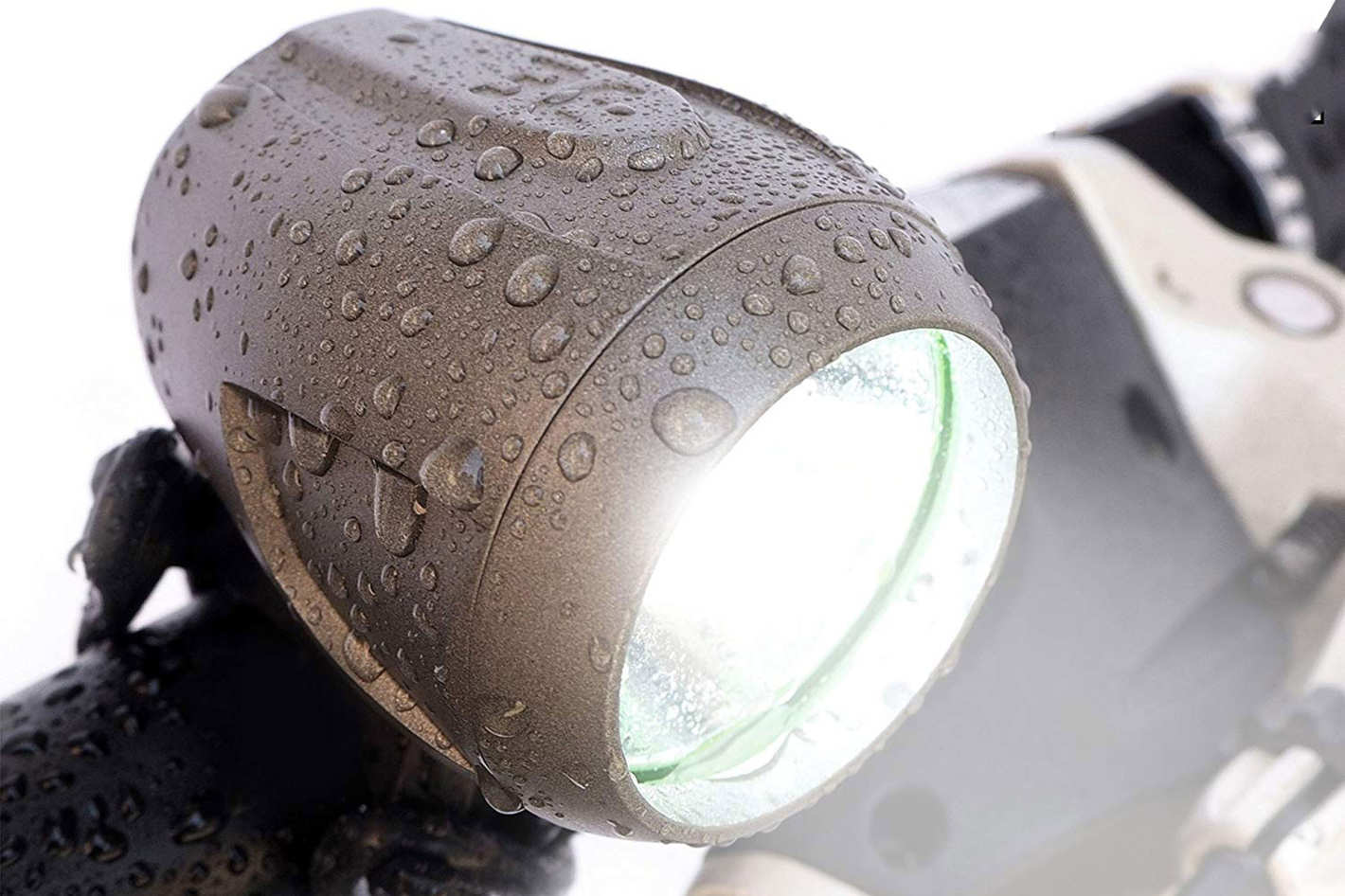 Bright Eyes Newly Upgraded and Fully Waterproof 1200 Lumen Rechargeable Bike Headlight