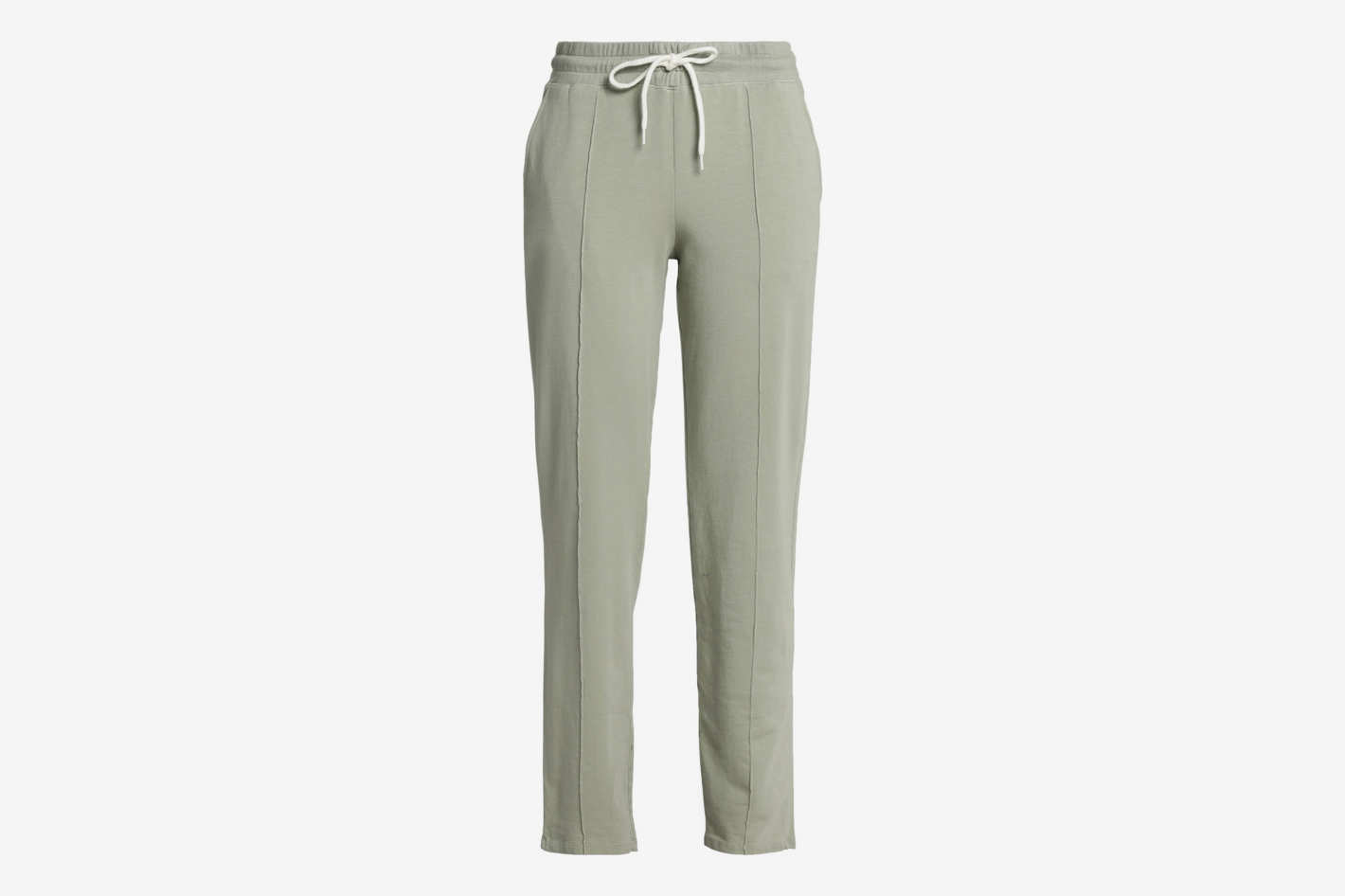 Monrow Stretch-Jersey Track Pants