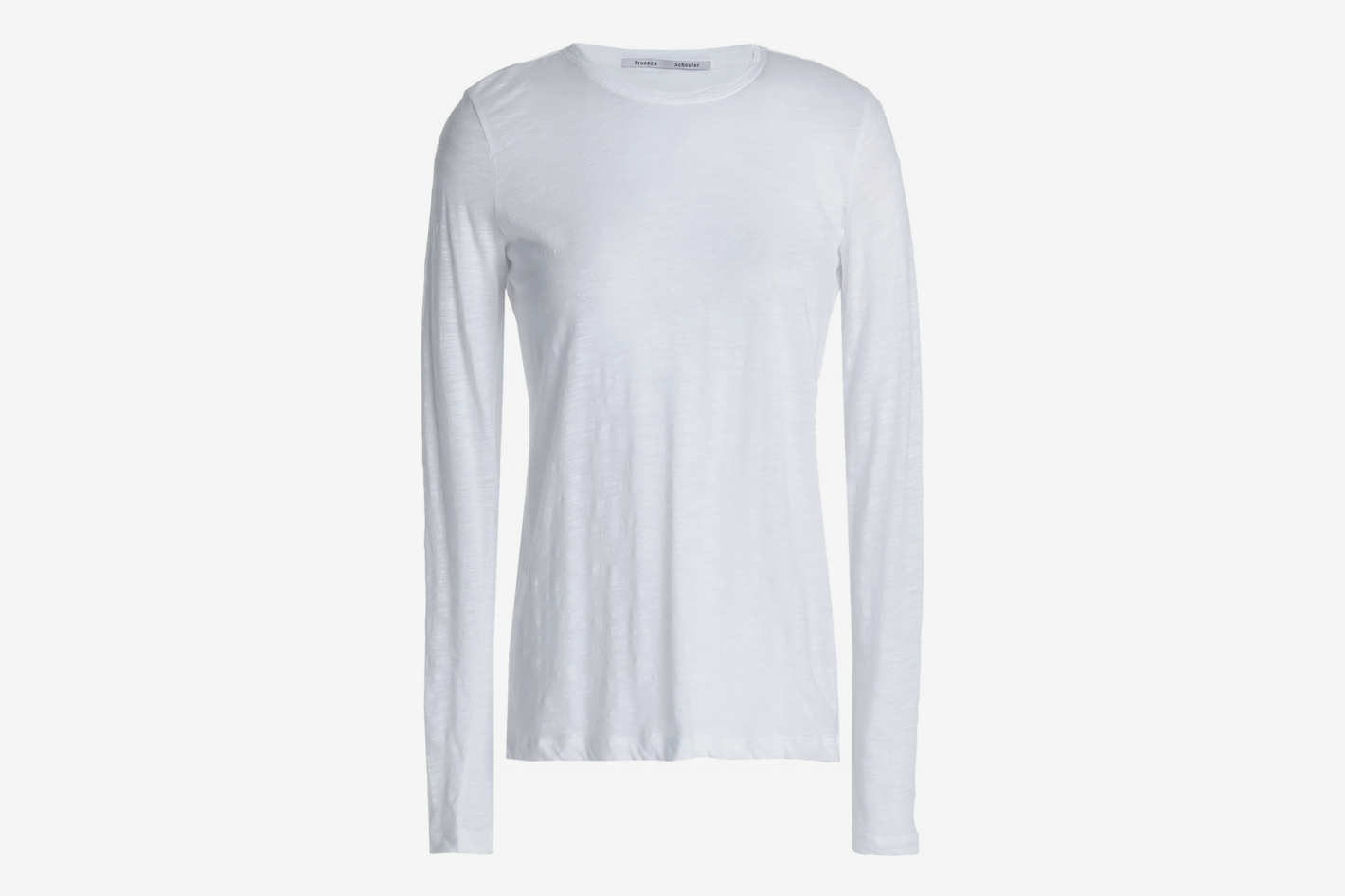 Proenza Schuler Slub Cotton-Jersey Top