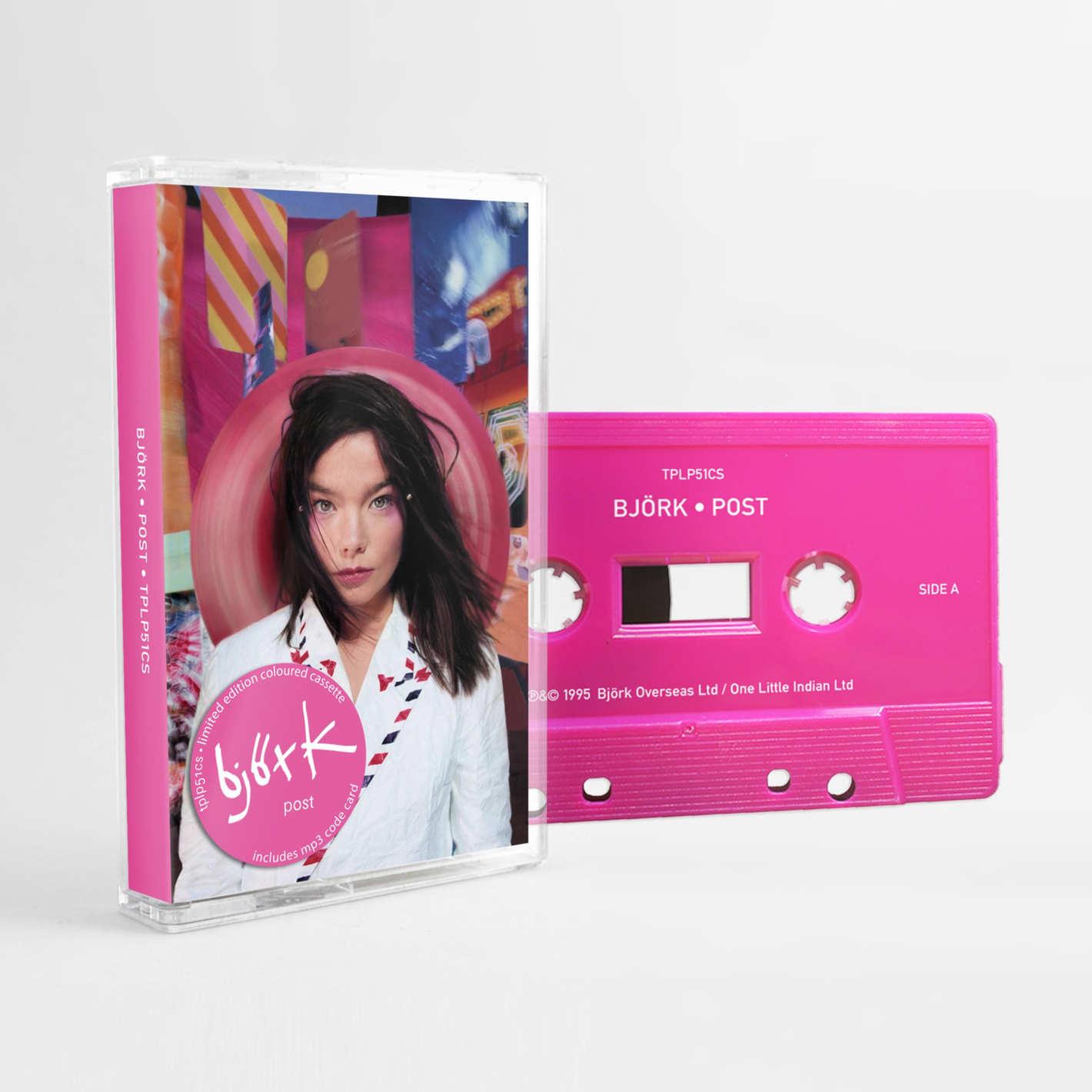 Björk Coloured Cassettes