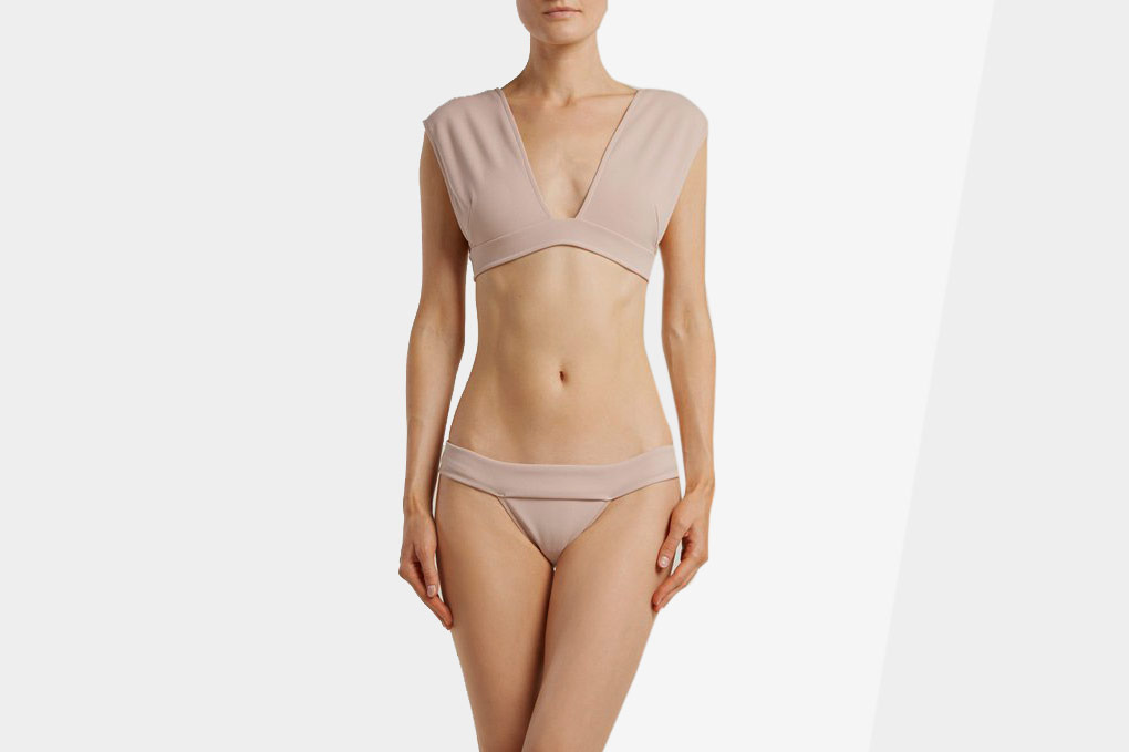 Haight V-Neck Crepe Bikini