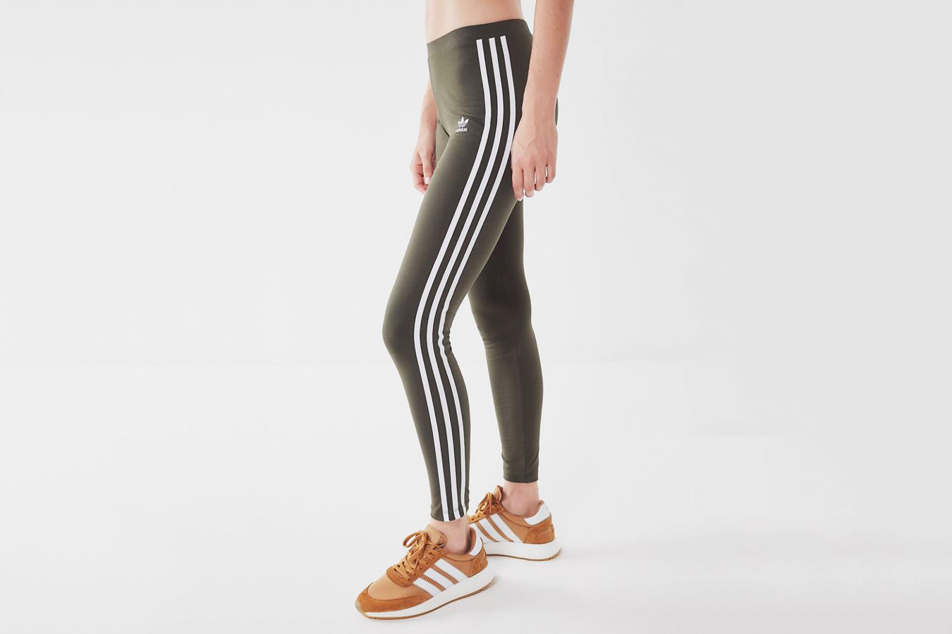 Adidas Originals 3-Stripe Mid-Rise Leggings