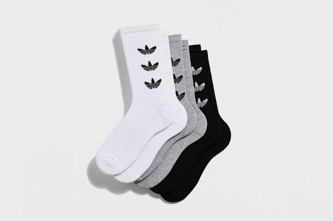 Adidas Originals Trefoil Logo Sock 3-Pack