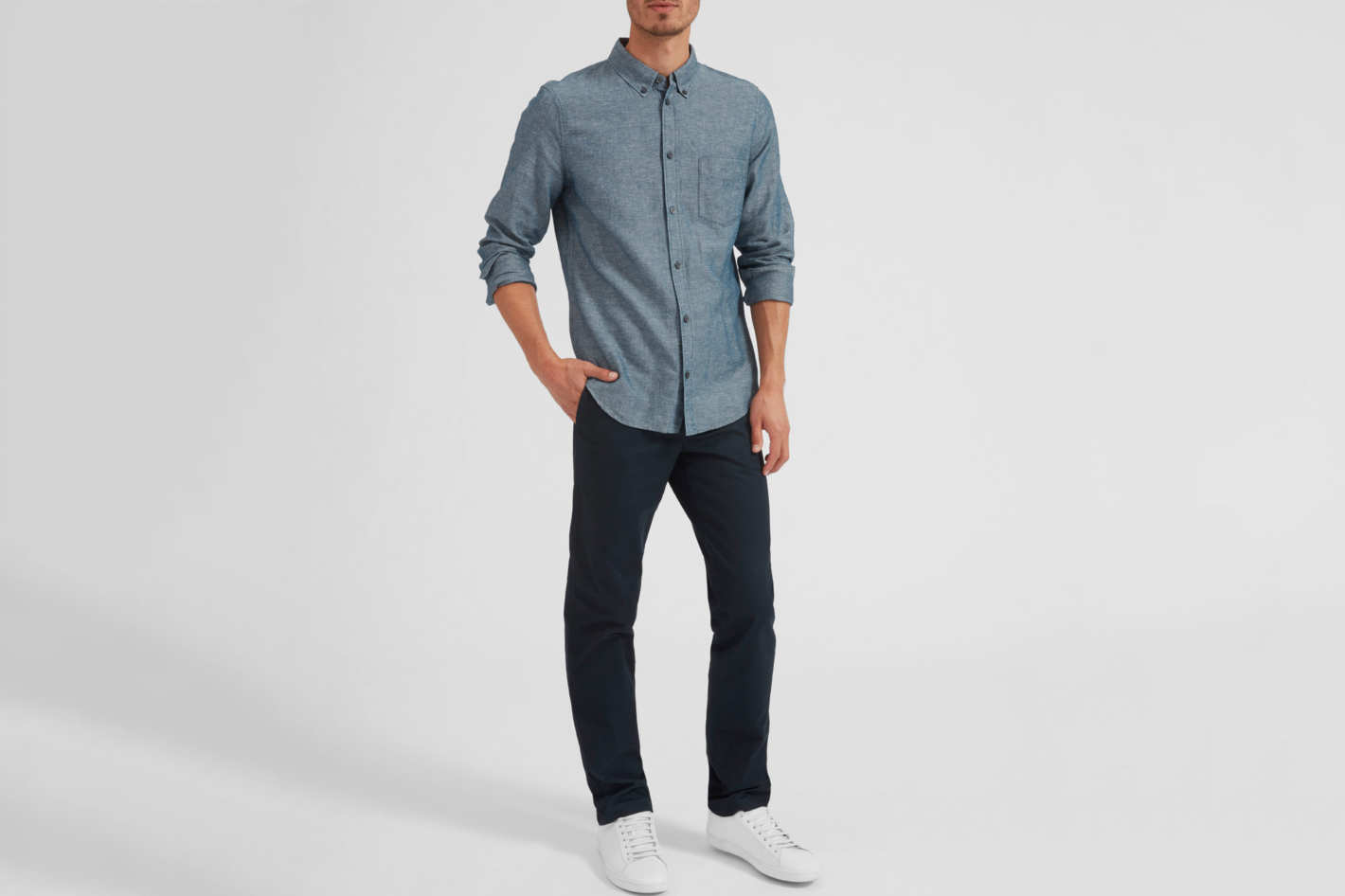 Everlane Men's Heavyweight Slim Chino
