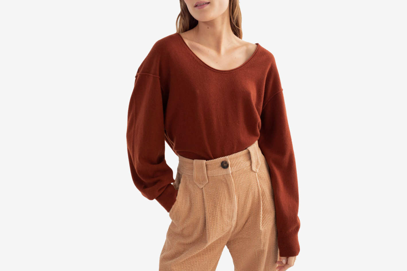 & Other Stories Scoop Neck Sweater