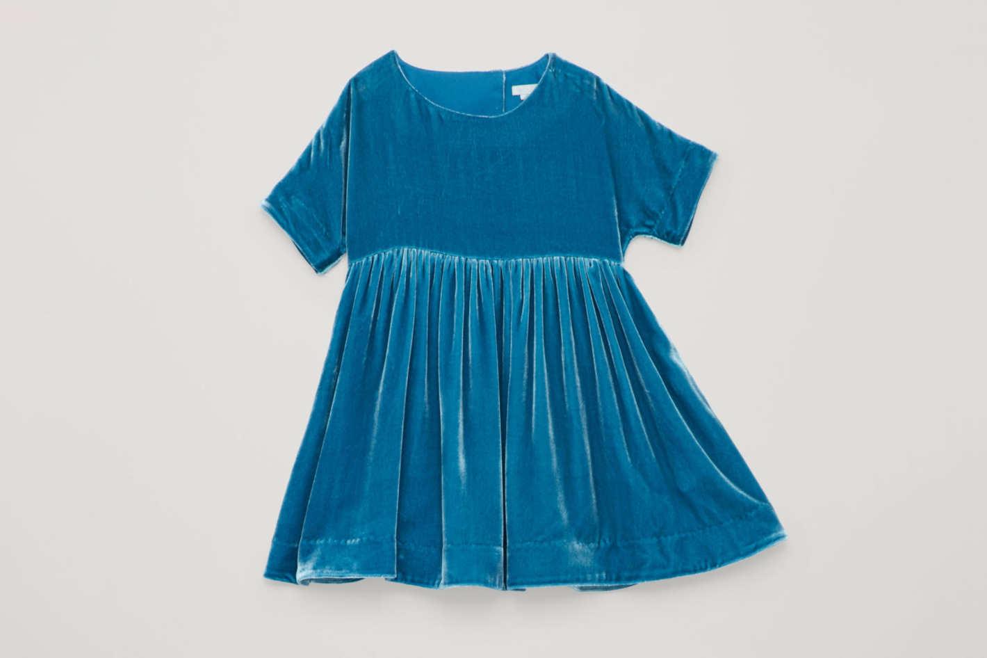 COS Velvet T-Shirt Dress