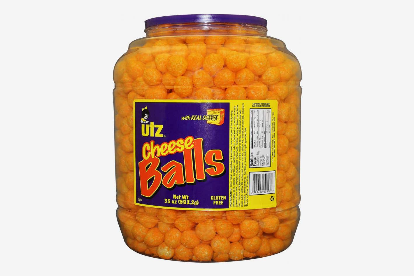 UTZ Cheese Balls, 1000-Count Barrel