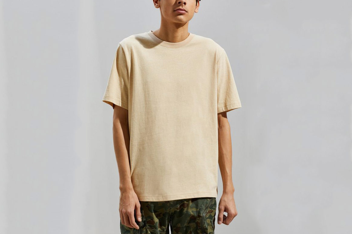UO Frank Heathered Ringer Tee