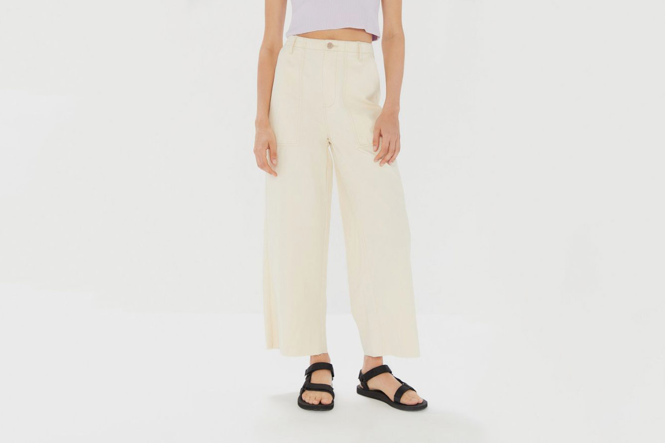 BDG Jane High-Rise Cropped Trouser Pant