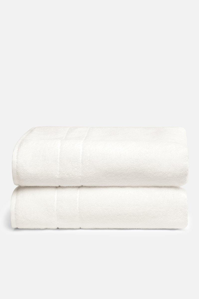 Brooklinen Super-Plush Bath Towels, Cream