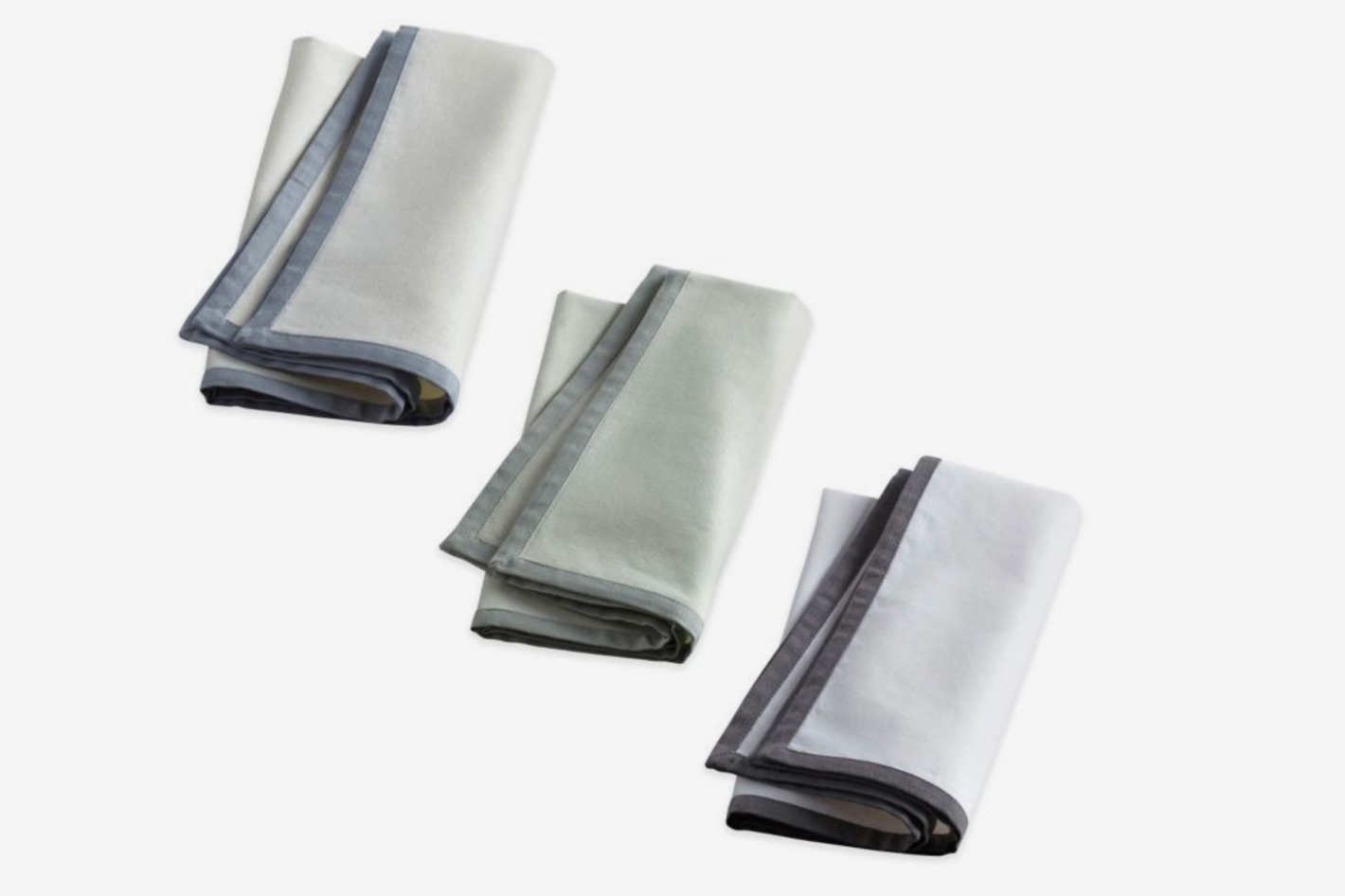 Wamsutta Bordered Linen Napkins (Set of 2)