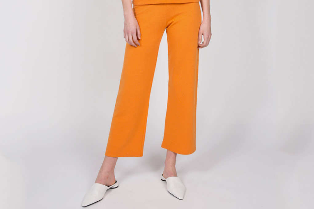 Liana Soto Pant Set Orange, Bottoms