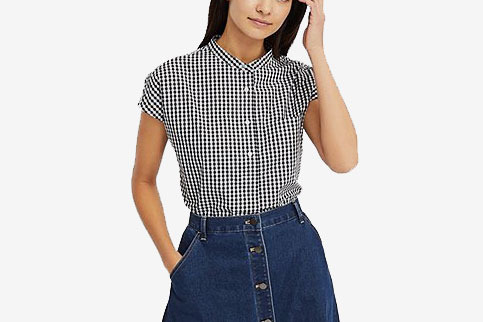 Uniqlo Extra Fine Cotton Short-Sleeve Shirt