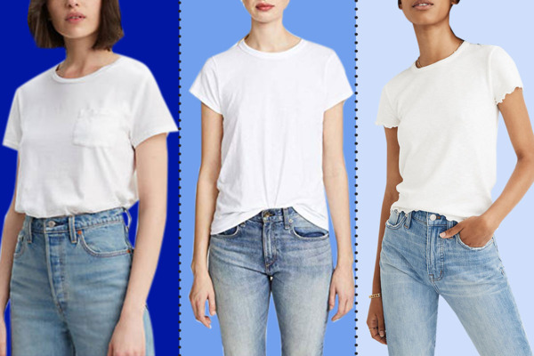 8e98fefee56b The 16 Best White T-shirts for Women 2019
