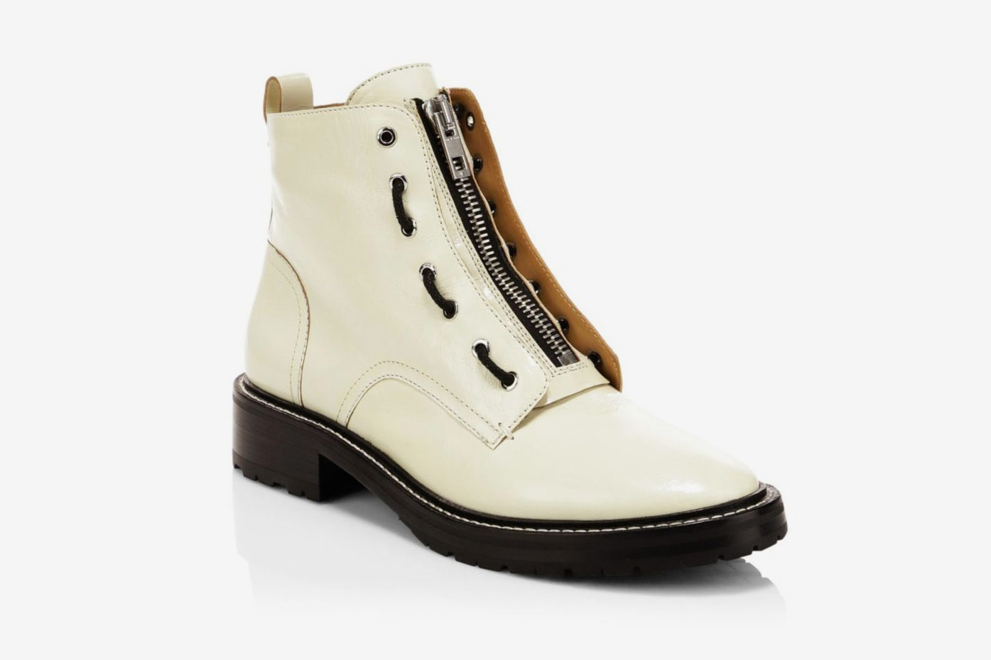 Rag & Bone Cannon Leather Combat Boot