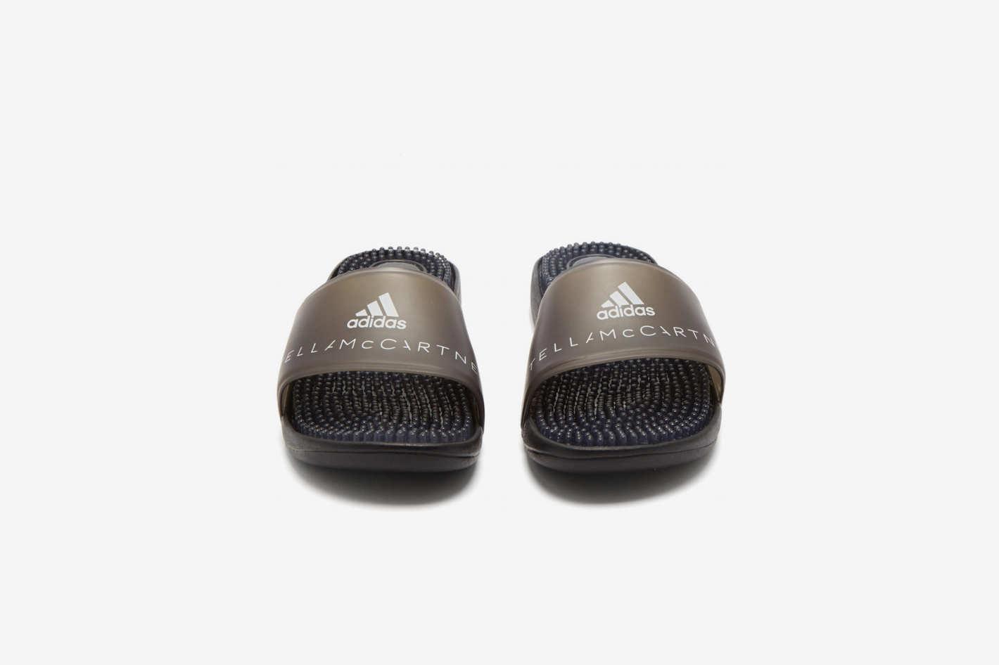 Adidas by Stella McCartney Logo-Print Rubber Slides
