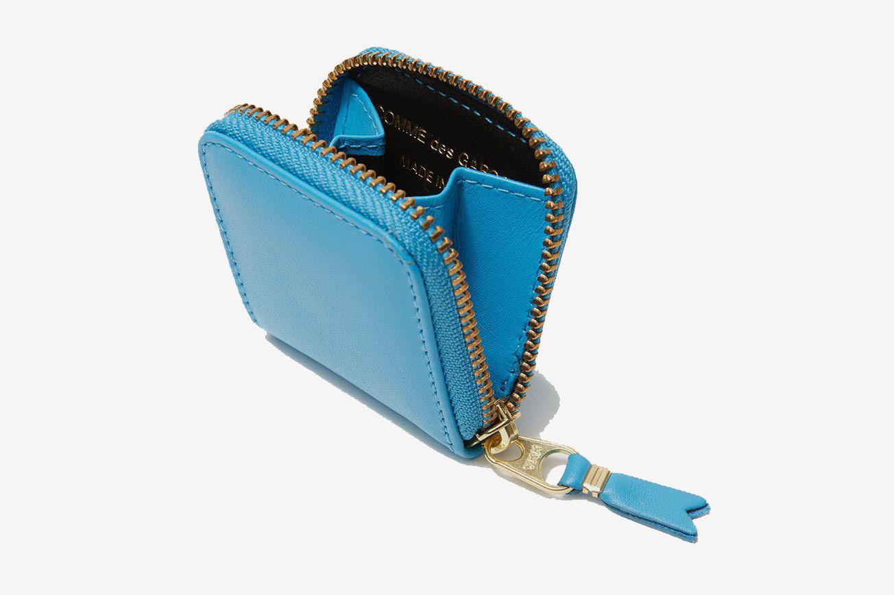 Comme des Garçons WalletClassic Leather Line SA4100 Wallet in Blue