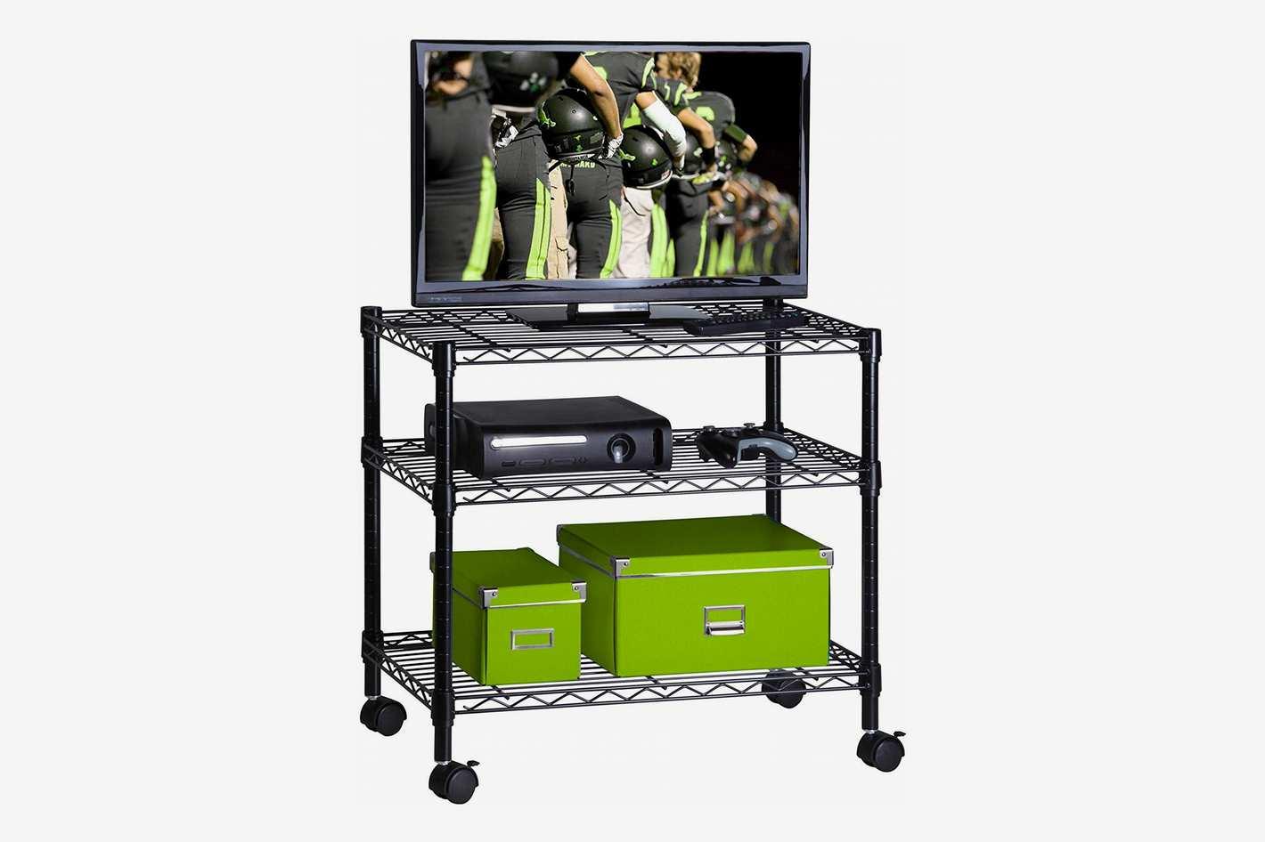 Honey-Can-Do 3-Shelf Portable Multimedia Cart