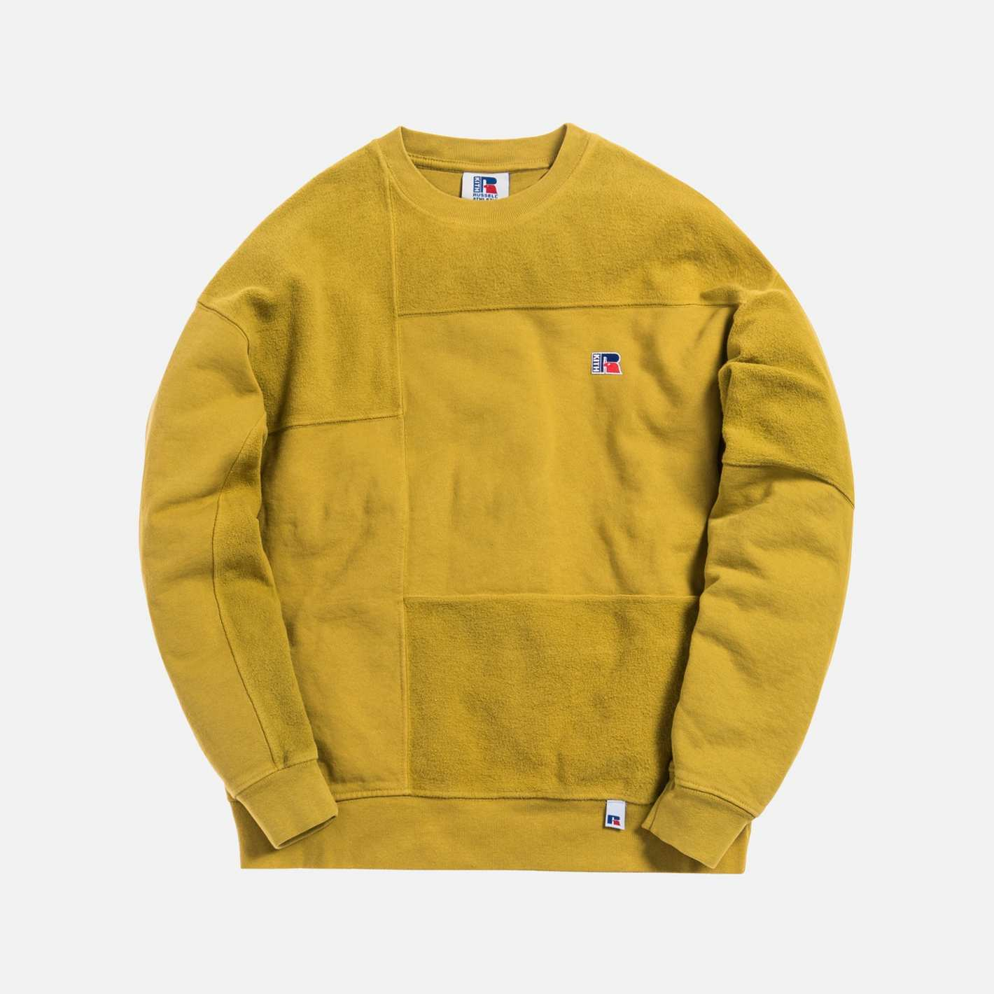 Kith x Russell Athletic Men's Reverse Crewneck, Honey
