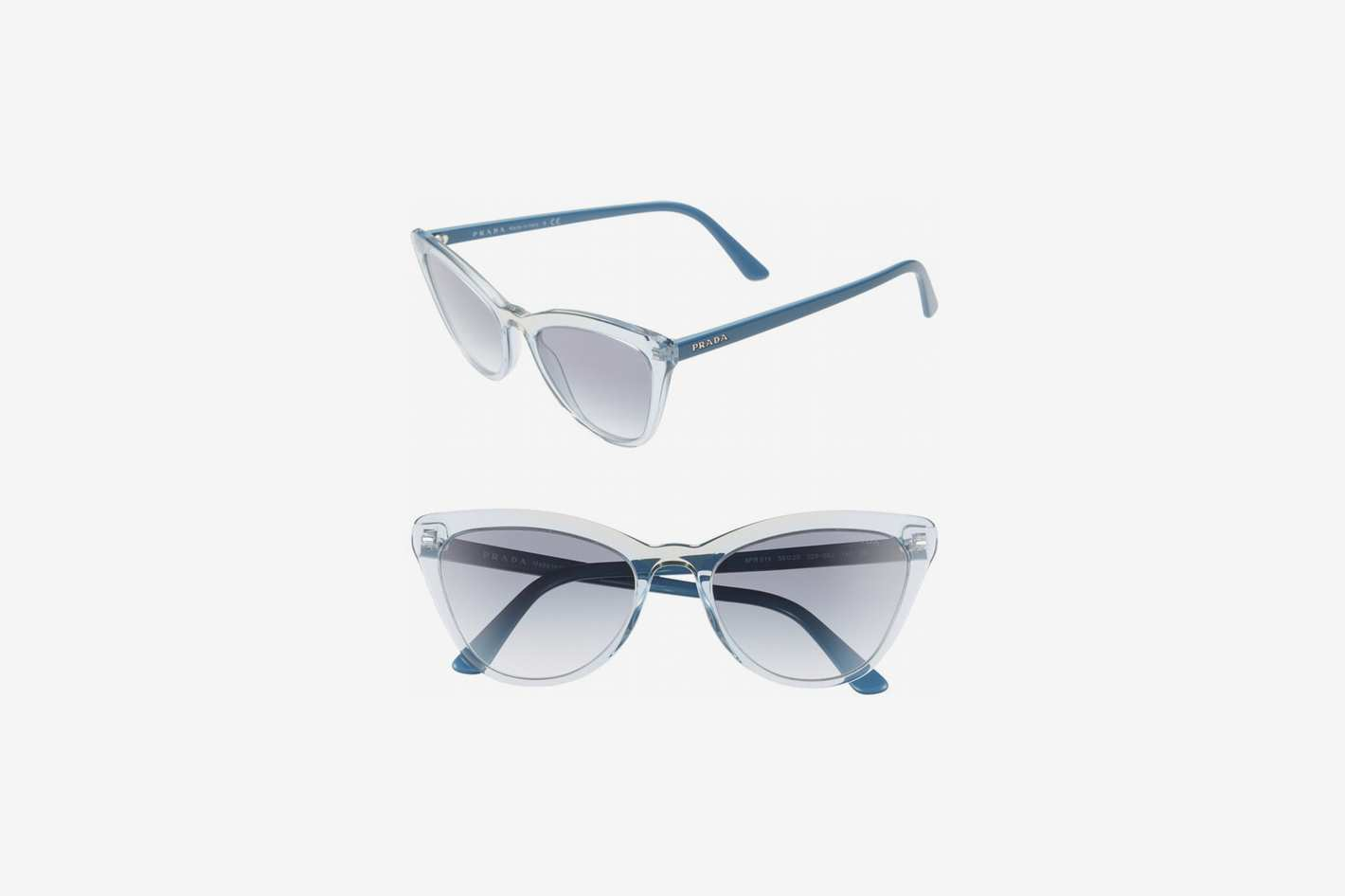 Prada 56mm Cat-Eye Sunglasses