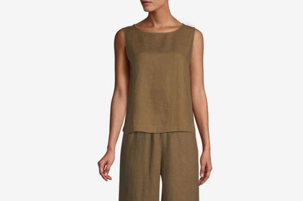 3be0acc6f Eileen Fisher Organic Handkerchief Linen Top at Saks Fifth Avenue