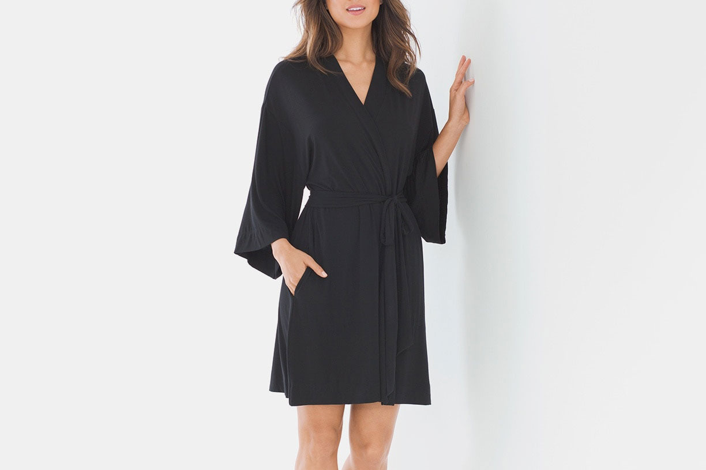 Soma Kimono Short Sleeve Robe