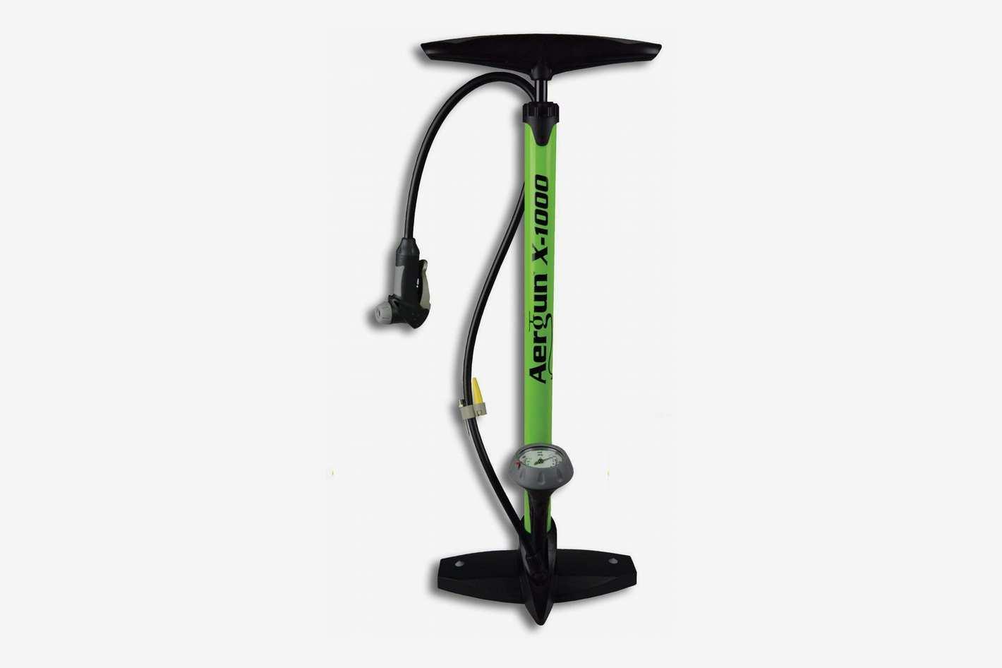 AerGun X-1000 Bike Pump – Unique AerTight Pump Head