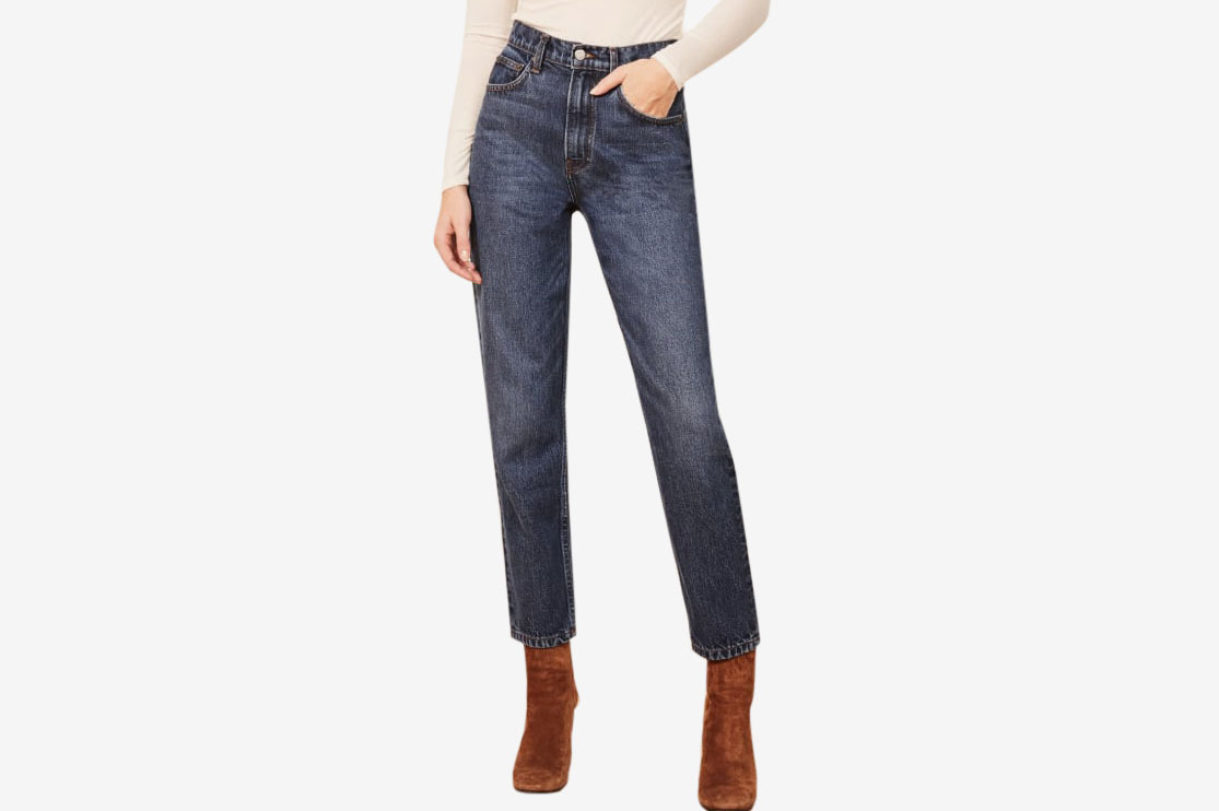 7c0bf0353 The Reformation '90s Mom Jean