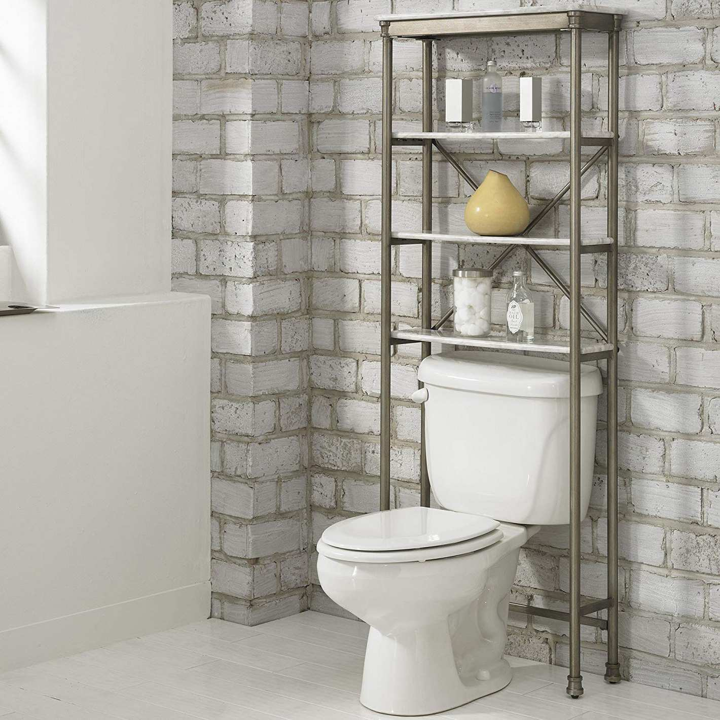 Home Styles The New Orleans Over Commode Stand Shelf