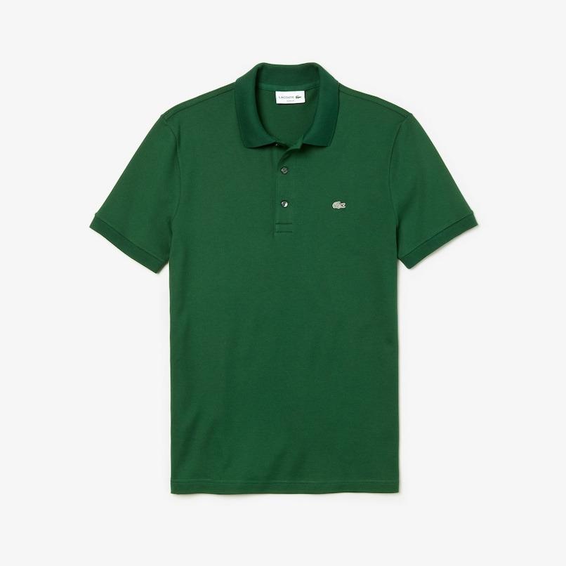 Lacoste Slim-Fit Polo Shirt in Stretch Petit Piqué