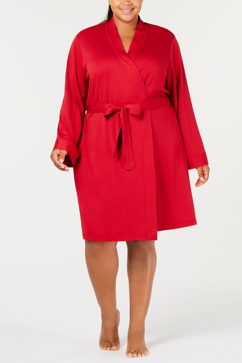 Charter Club Plus Size French Terry Robe