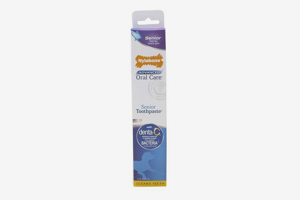 Nylabone Advanced Oral Care Senior Dog Toothpaste