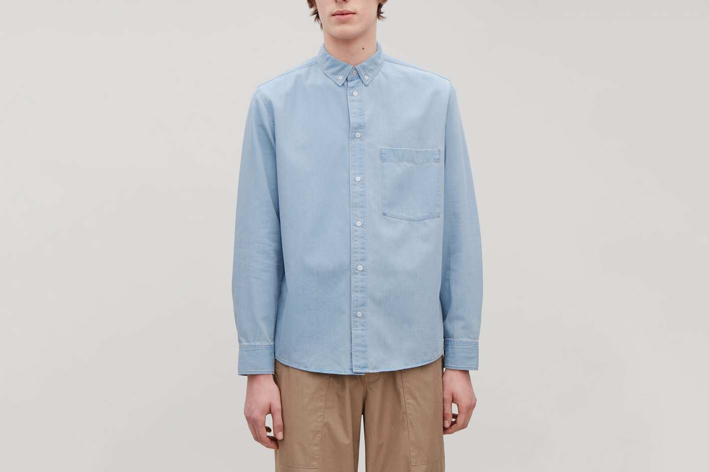COS Denim Shirt, Fresh Sky