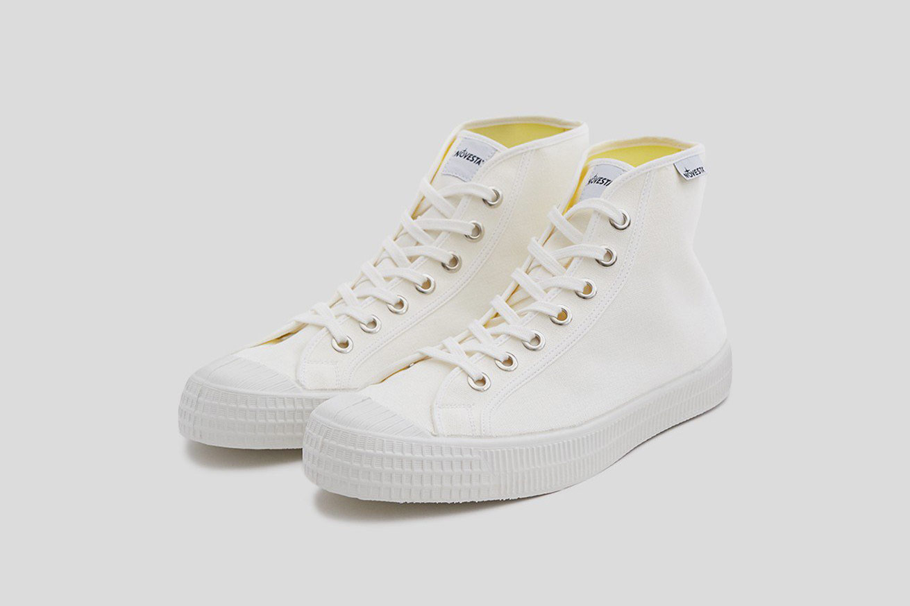 Novesta Star Dribble Classic Sneaker in White