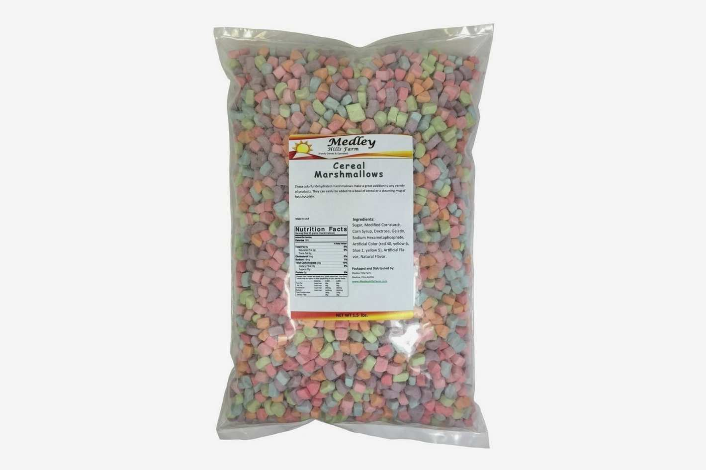 Medley Hills Farm Assorted Dehydrated Marshmallow Bits Cereal
