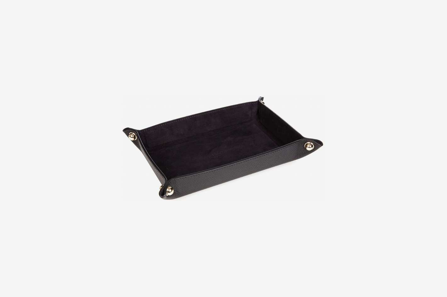 Smythson Small Leather Trinket Tray