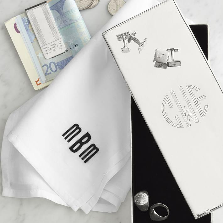 Mark & Graham Customized Gentleman's Handkerchiefs