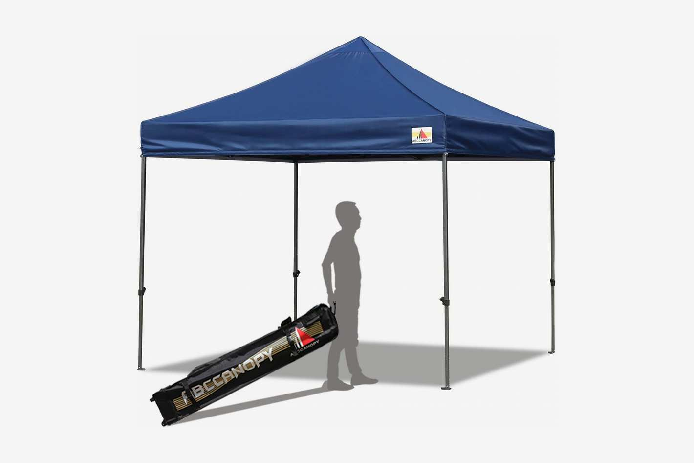 ABCCANOPY Pop Up Commercial Canopy Tent with Wheeled Carry Bag, 10-feet by 10-feet