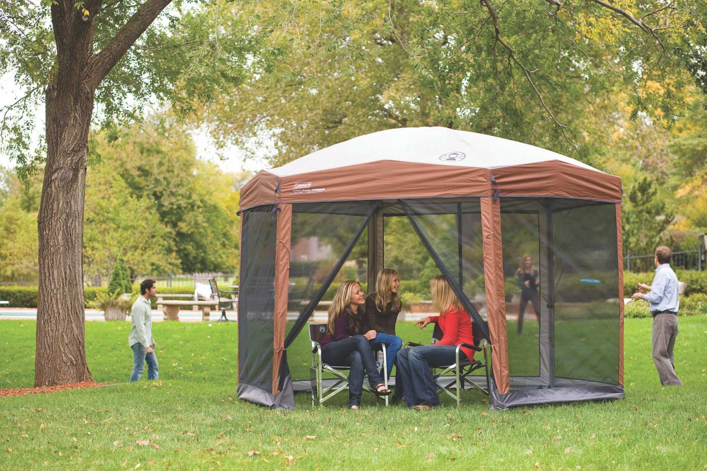 Coleman Screened Canopy Tent, 12-Feet by 10-Feet