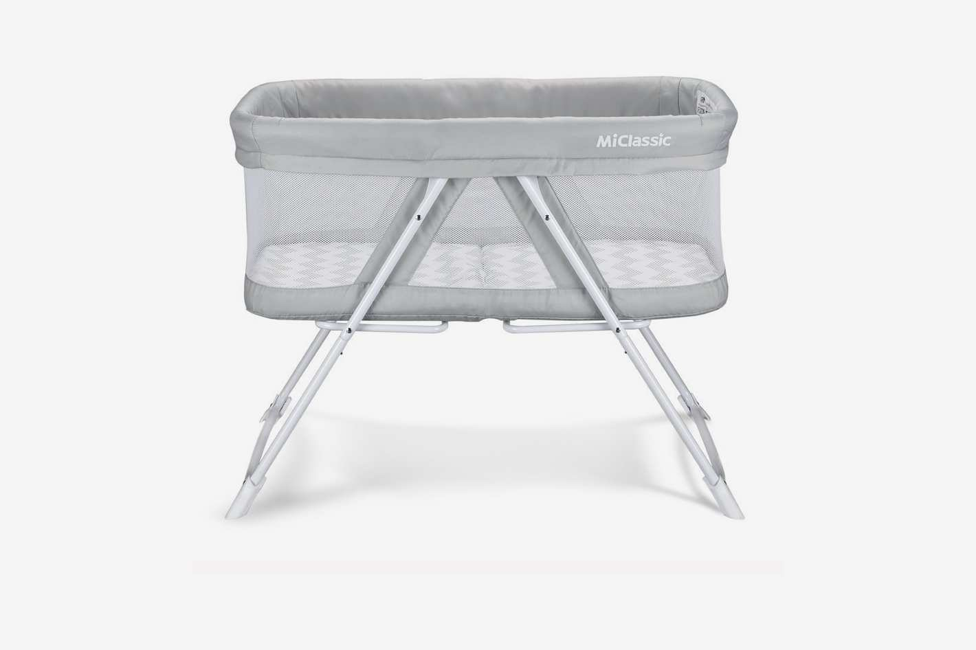 2 in 1 Rock & Stay Bassinet One-Second Fold Travel Crib Portable