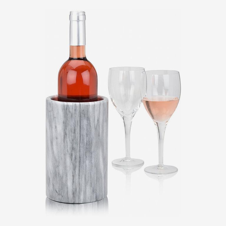 Grey Marble Wine Bottle